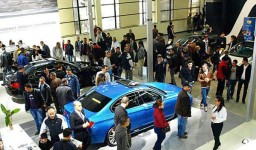 Le salon international de l'automobile d'Alger