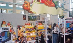 Le salon international de l'enfant à Alger