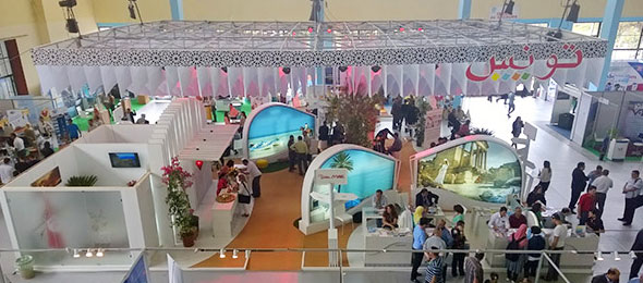 Le salon international du tourisme et des voyages d 39 alger - Salon international du tourisme rennes ...