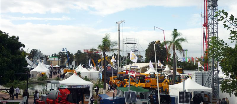 Le salon international des travaux publics d'Alger