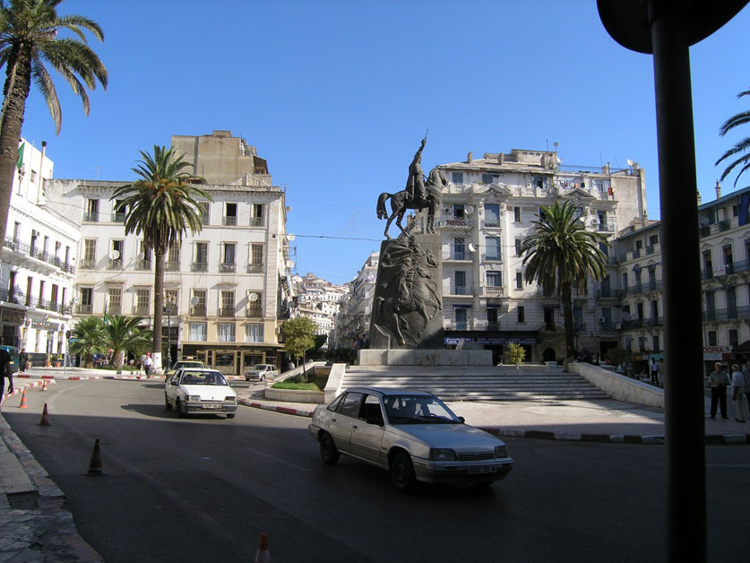 Photo de la place Émir Abdelkader à Alger