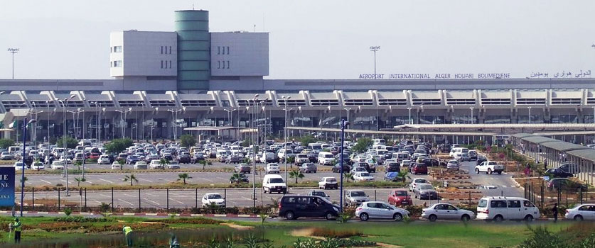 L'aéroport international Houari Boumediene à Alger