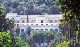 Le musée national des beaux-arts à Belouizdad