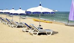 La plage de l'hôtel Sheraton à Staoueli