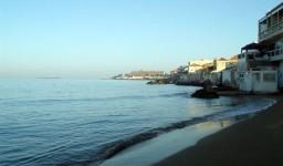 La plage Sidi Fredj Ouest à Staoueli