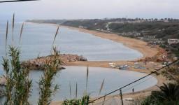 La plage Surcouf à Aïn Taya