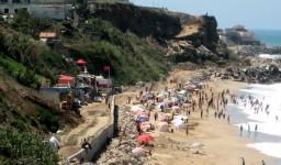 La plage Tamaris à Aïn Taya