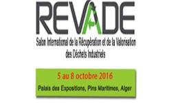Le salon international de la récupération et de la valorisation des déchets industriels (REVADE) à Alger