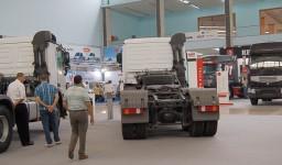 Le salon international du véhicule industriel et utilitaire (SIVI) d'Alger
