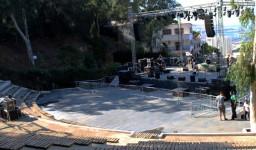 Le théâtre de verdure (Riadh El Feth) à El Madania