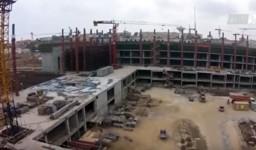 Reportage vidéo sur la grande mosquée d'Alger : le projet avance à grands pas