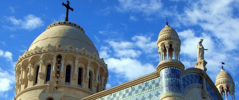 La basilique Notre-Dame d'Afrique à Alger