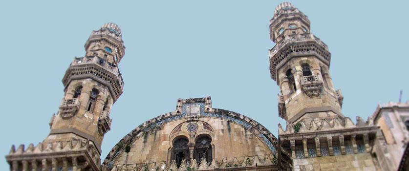 La mosquée Ketchaoua à Alger
